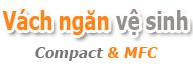 Vách ngăn vệ sinh | Vách vệ sinh compact & MFC