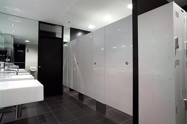 không gian nhà vệ sinh hiện đại
